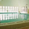 Heilwasserbecken in Heviz, im Hotel Helios Spa und Wellnesshotel